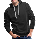 Customizable Men's Premium Hoodie add your own photos, images, designs, quotes, texts and more