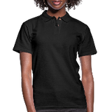 Customizable Women's Pique Polo Shirt add your own photos, images, designs, quotes, texts and more