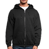 Customizable Men's Zip Hoodie add your own photos, images, designs, quotes, texts and more