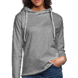 Customizable Unisex Lightweight Terry Hoodie add your own photos, images, designs, quotes, texts and more