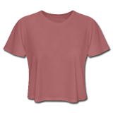 Customizable Women's Cropped T-Shirt add your own photos, images, designs, quotes, texts and more