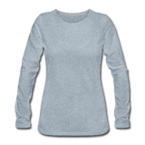 Customizable Women's Premium Long Sleeve T-Shirt add your own photos, images, designs, quotes, texts and more