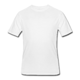 Customizable Men's 50/50 T-Shirt add your own photos, images, designs, quotes, texts and more