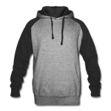 Customizable Unisex Color block Hoodie add your own photos, images, designs, quotes, texts and more