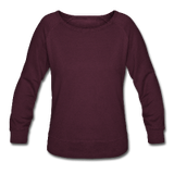 Customizable Women's Crewneck Sweatshirt add your own photos, images, designs, quotes, texts and more