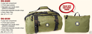 Journey Gear foldable Duffel Bag for Travel, Luggage, Sports, Gym, with bonus carry pouch
