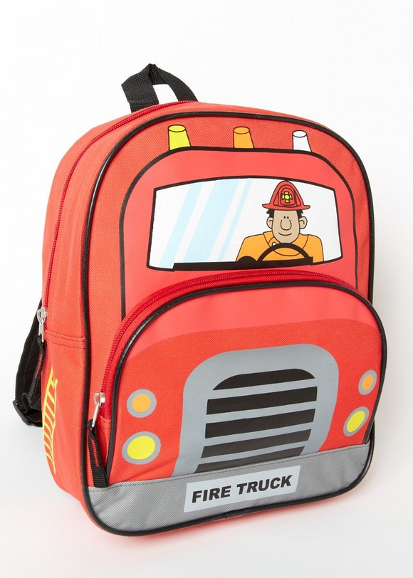Children's Vehicle Backpacks and daypacks for Travel, books and School