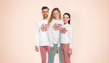 Customizable Unisex Pajama Set add your own photos, images, designs, quotes, texts and more