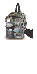 "9.5"" inch small Designer Print Hipster Crossbody Daypack for Children and Adults! (Image Print design)"