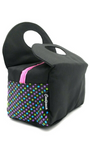 Insulated Lunch Bag Cooler with Front Velcro Pocket and Purse Design. Pretty and Nice!