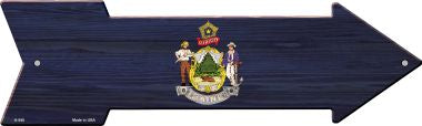 Maine State Flag Novelty Arrows