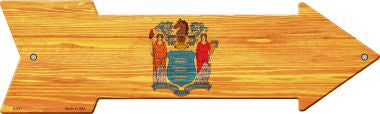 New Jersey State Flag Novelty Arrows
