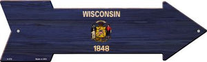 Wisconsin State Flag Novelty Arrows