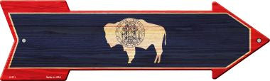 Wyoming State Flag Novelty Arrows