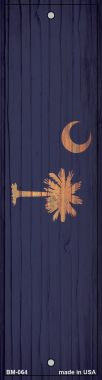 South Carolina Flag Novelty Metal Bookmark BM-064