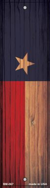 Texas Flag Novelty Metal Bookmark BM-067