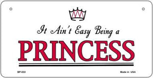 Being A Princess Novelty Metal Bicycle Plate