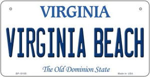 Virginia Beach Novelty Metal Bicycle Plate BP-10105