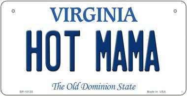 Hot Mama Virginia Novelty Metal Bicycle Plate BP-10125