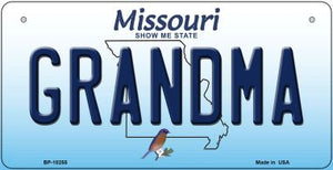 Grandma Missouri Novelty Metal Bicycle Plate BP-10255