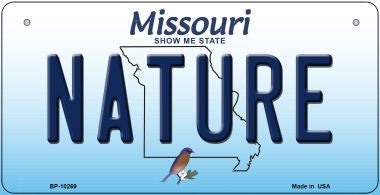 Nature Missouri Novelty Metal Bicycle Plate BP-10269