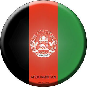 Afghanistan Country Novelty Metal Circular Sign