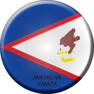 American Samoa Country Novelty Metal Circular Sign