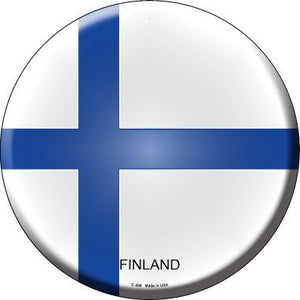 Finland Country Novelty Metal Circular Sign