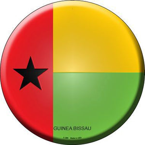 Guinea Bissau Country Novelty Metal Circular Sign