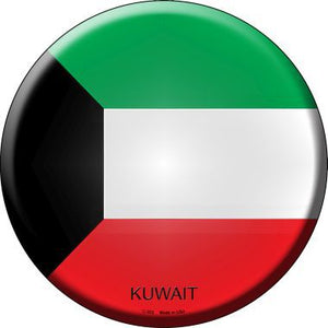 Kuwait Country Novelty Metal Circular Sign