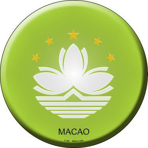 Macao Country Novelty Metal Circular Sign