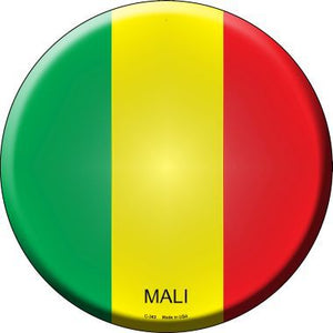 Mali Country Novelty Metal Circular Sign