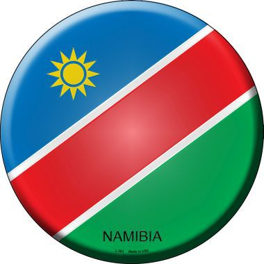 Namibia Country Novelty Metal Circular Sign