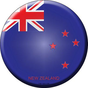 New Zealand Country Novelty Metal Circular Sign