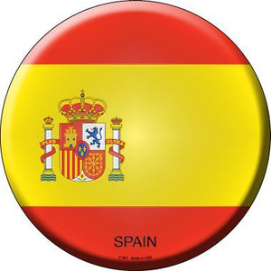 Spain Country Novelty Metal Circular Sign