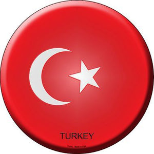Turkey Country Novelty Metal Circular Sign