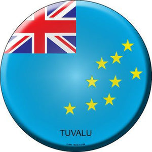 Tuvalu Country Novelty Metal Circular Sign