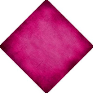 Pink Oil Rubbed Novelty Metal Crossing Sign CX-003