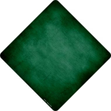 Green Oil Rubbed Novelty Metal Crossing Sign CX-004