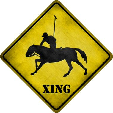 Polo Xing Novelty Metal Crossing Sign CX-101