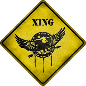 Dream Catcher Xing Novelty Metal Crossing Sign CX-140