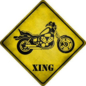 Classic American Chopper Xing Novelty Metal Crossing Sign CX-214