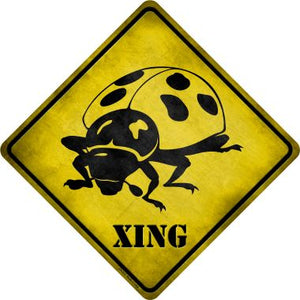 Ladybug Xing Novelty Crossing Sign CX-313