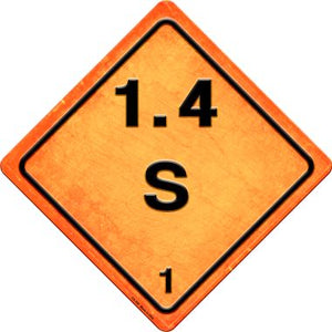 S 1.4 Novelty Metal Crossing Sign CX-526