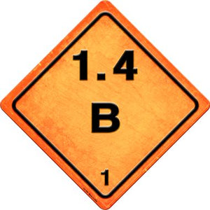 B 1.4 Novelty Metal Crossing Sign CX-528