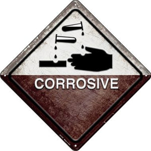 Corrosive Novelty Metal Crossing Sign CX-570