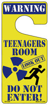Teenager Room Blue Novelty Metal Door Hanger DH-045