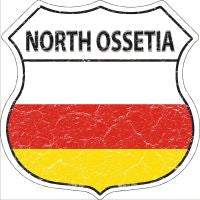 North Ossetia Highway Shield Novelty Metal Magnet HSM-359