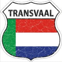 Transvaal Highway Shield Novelty Metal Magnet HSM-429