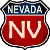 Nevada Highway Shield Novelty Metal Magnet HSM-523